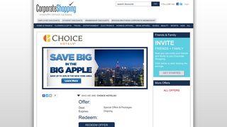 Choice Hotels® Employee Discounts, Employee Benefits, Employee ...