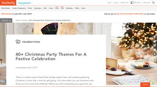 How to Plan a Christmas Party   Shutterfly