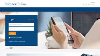 InvestorOnline - Login - CI Investments