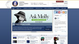 Welcome to the CIA Web Site — Central Intelligence Agency
