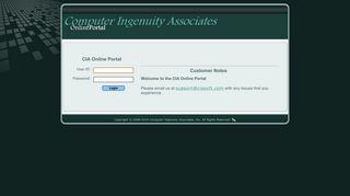CIA Online Portal Login