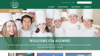 The Culinary Institute of America - Career Services - Alumni