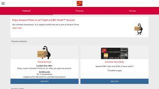 Bank Accounts - CIBC.com