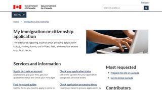 My Application - Cic