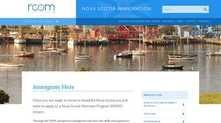 Immigrate Here - Nova Scotia Immigration