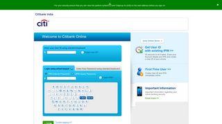 Citibank Online - Citibank India
