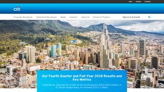 Citi   Responsible Finance - Financial Ingenuity - Global Bank