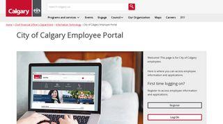 The City of Calgary - City of Calgary Employee Portal