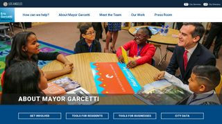 Office of Los Angeles Mayor Eric Garcetti |