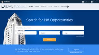 City of Los Angeles - Business Assistance Virtual Network