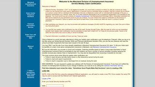 Log On - Webcert - Unemployment Insurance
