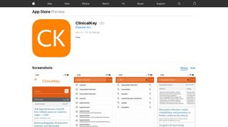 ClinicalKey on the App Store - iTunes - Apple