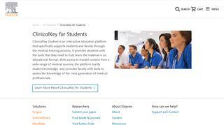 ClinicalKey Medical Education - Elsevier