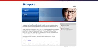 Thinkpass - Home Page