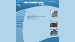 Campus Managment Solution - (UET) Peshawar