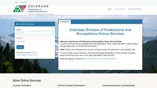 Colorado Department of Regulatory Agencies - Colorado Division of ...