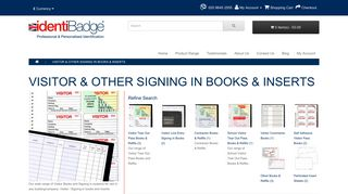 Visitor Books   company visitors Book OTHER SIGNING IN BOOKS ...