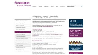 Frequently Asked Questions   Computershare Voucher Services
