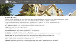Member Benefits   San Antonio Real Estate-SABOR-San Antonio ...