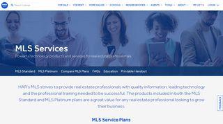 MLS Services - HAR.com