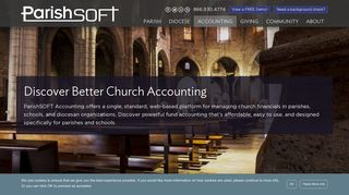 Church Accounting Software - ConnectNow: Accounting - ParishSOFT