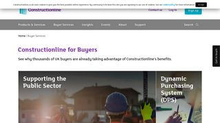 Buyer Services - Constructionline