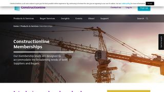 Sign up as a Supplier - Constructionline