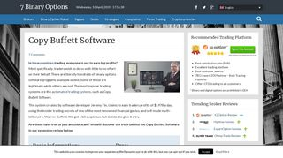 • Copy Buffett Software Review - Can This Software Work At All? •