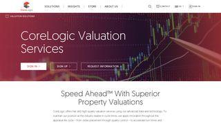 Valuation Services - CoreLogic
