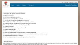 CoreLogic Valuation Solutions - CoreLogic Login