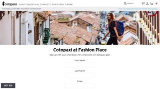 Sign Up For Fashion Place Updates – Cotopaxi