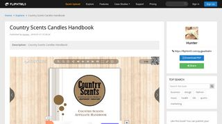 Country Scents Candles Handbook Pages 1 - 19 - Text Version ...