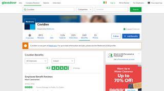 Covidien Employee Benefits and Perks   Glassdoor.ie