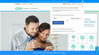 Cox Internet, Cable TV, Phone and Smart Home and Security