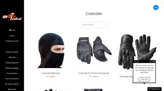 Cramster Riding Gear – Moto Central