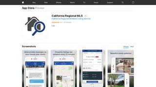California Regional MLS on the App Store - iTunes - Apple