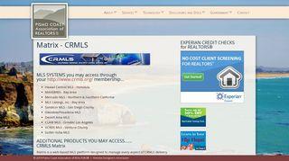 Matrix - CRMLS - Pismo Coast Realtors