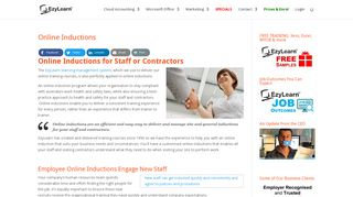 Online Inductions - EzyLearn Online Training Courses