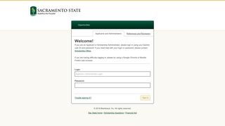 Sign In - Sacramento State