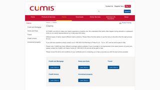 Claims - CUMIS
