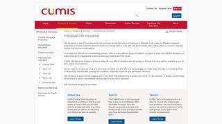 Individual Life Insurance - Cumis