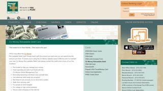 CU Money Reloadable Debit - Financial Plus Credit Union