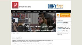 CUNYfirst - LaGuardia Community College