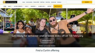 Curtin University, Western Australia's largest, most culturally diverse ...