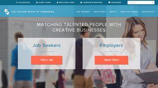 The Custom Group Of Companies - Custom Staffing