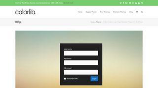 16 Best Custom Login Page Plugins for WordPress - Colorlib