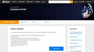 Bajaj Finserv Customer Portal, online account access