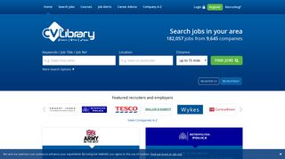 Job Search - Find 195,000 UK jobs on CV-Library