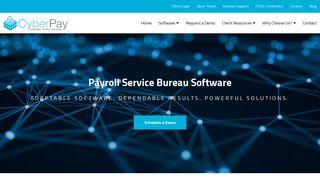 CyberPay: Payroll Service Bureau Software