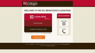 Desire2Learn Login-UW Colleges/UW Online